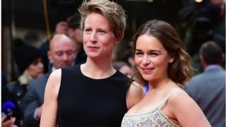 Thea Sharrock (left) and Emilia Clarke