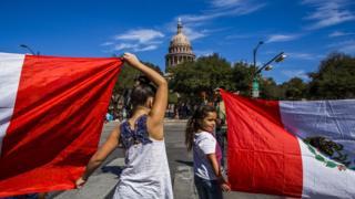 Protest outside Austin capital