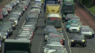 Motorists are feeling the knock-on effects of a crash on the M2