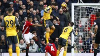 Olivier Giroud yatsinze igitego Man Utd