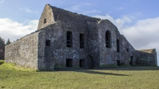 The Hellfire Club began life as a 18th Century hunting lodge built from stones taken from ancient passage tombs