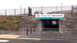 Barry Docks station