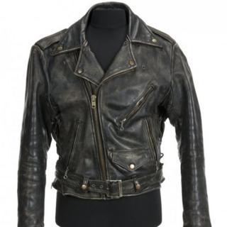 """La chaqueta de cuero que Patrick Swayze usó en """"Dirty Dancing"""" (1987)."""