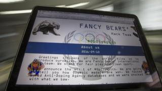 Сайт Fancy Bears