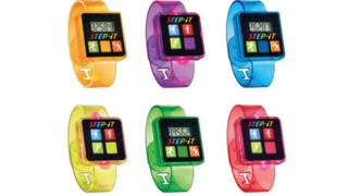 A range of six McDonald's activity wrist bands
