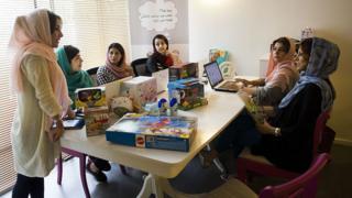 Iranian women in workplace
