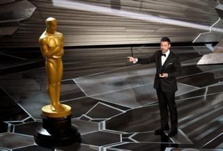 Jimmy Kimmel on stage