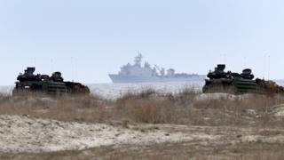 Karadeniz'de ABD donanması
