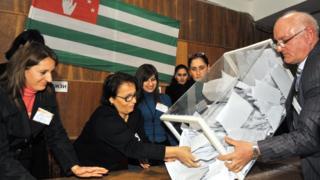 Выборы в Абхазии, 2011 год