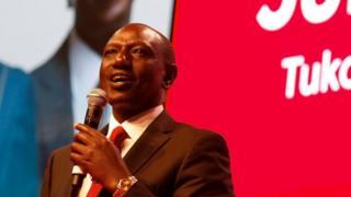 Naibu wa rais nchini Kenyatta Willia Ruto