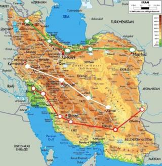 پایتختهای ایران