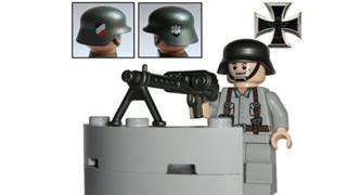 Toy Wehrmacht soldier (screenshot from Amazon website)