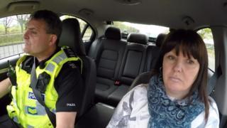 Kate Goldsmith joins police patrol