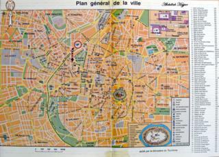 Map of Aleppo