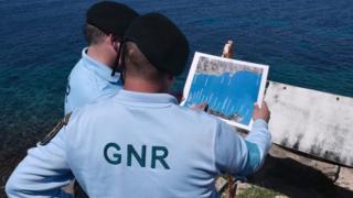 Midilli Adası'nda sahil güvenliğini sağlayan Portekizli yetkililer