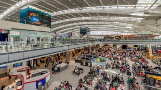 Heathrow Terminal 5 - long shot