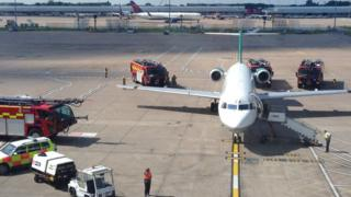 An investigation found an air conditioning fault on the Romania-bound Carpatair chartered flight