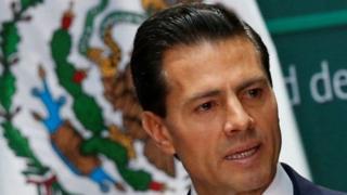 Shugaban Mexico Enrique Pena Nieto