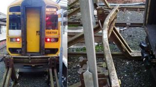 Train and buffer