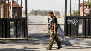 نقطة حدودية بين سوريا وتركيا