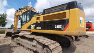 File image of a digger