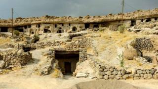 Maymand mağara köyü, İran