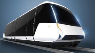 The tram design