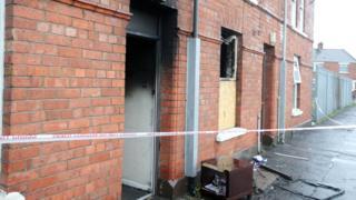 Clara Street petrol bomb attack