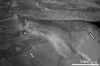 Mars surface image