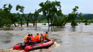 Спасатели в Приморье