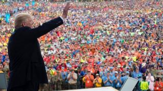 Donald Trump at the Jamboree
