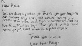 Hetty's letter to police