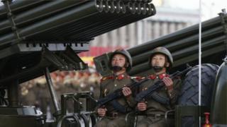 उत्तर कोरिया के सैनिक