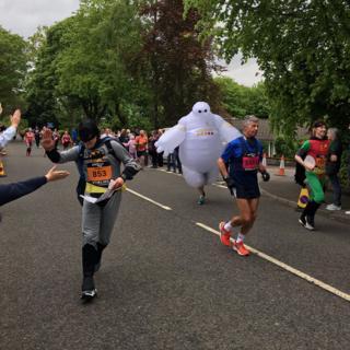 Scottish marathon in Stirling