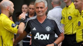 José Mourinho, l'entraîneur de Manchester United, se félicite des modifications apportées à la CAN