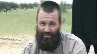 Swedish citizen Johan Gustafsson, who was taken captive in northern Mali by the al-Qaida militant group in 2011