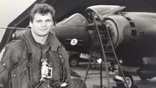 Paul Gunnell joined the RAF in 1982 and flew Harrier jump jets before joining Cathay Pacific
