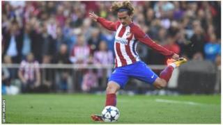 Griezmann yageze muri Atletico Madrid avuye muri Real Sociedad mu cyi ryo mu mwaka wa 2014