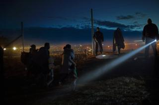 """""""Refugees on the Balkan Route"""" by Matej Povse, 2nd place, Single Image, LensCulture Exposure Awards 2015"""