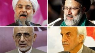 مرشحو الرئاسة الإيرانية