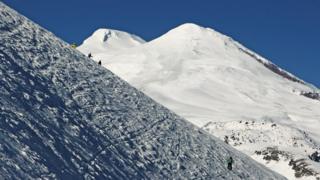 склон горы Чегет