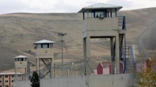 Sincan prison outside Ankara.