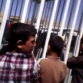 IŞİD videosundan bir görüntü.