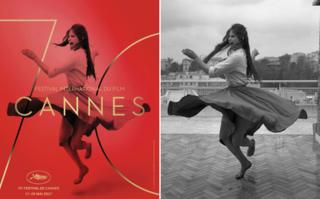 Cannes poster and original photo