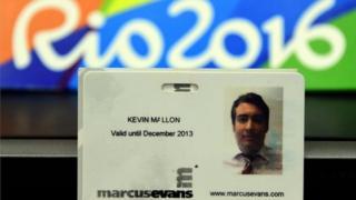 Mshukiwa wa kashfa ya uuzaji tiketi katika michezo ya Olimpiki ya Rio Kevin Mallon