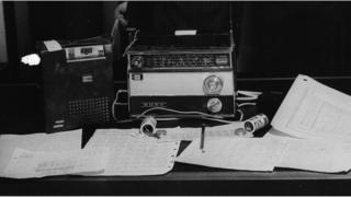 Vintage spy equipment