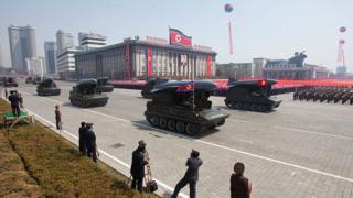 Korea Kaskazini ikionyesha makombora ya Styx 2012