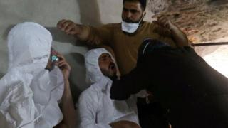 80 qof ayaa ku dhintay weerarkii sunta loo adeegsaday ee Idlib bishii April