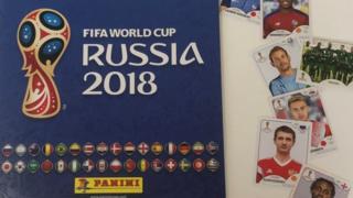 Panini World Cup sticker book