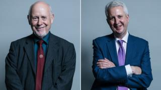 Kelvin Hopkins and Ivan Lewis composite picture
